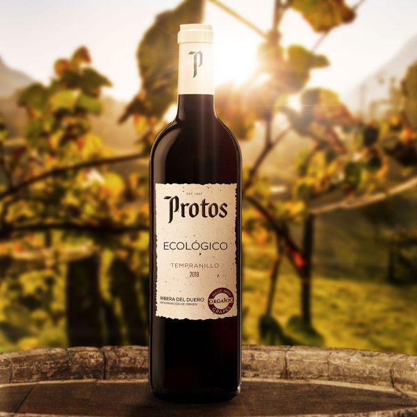 BIO suché červené víno, plne organické, zo Španielska
