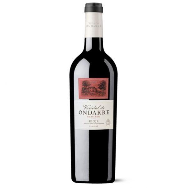 Vino Rioja Ondarre Graciano varietal kvalitne
